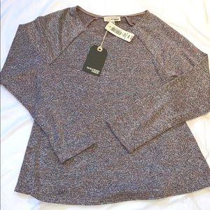 Aritzia Wilfred Free Brauw T-Shirt Heather Quarry